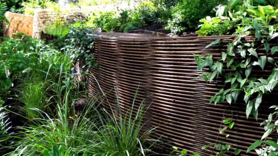 Metal Weave garden beds