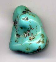 Turquise pebble