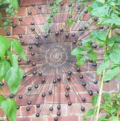 Garden Wall Art With Plants