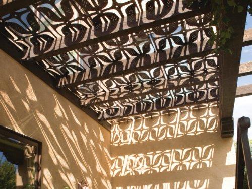 metal art and shadows