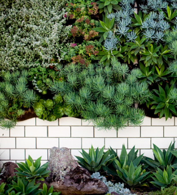 fabric create vertical gardens