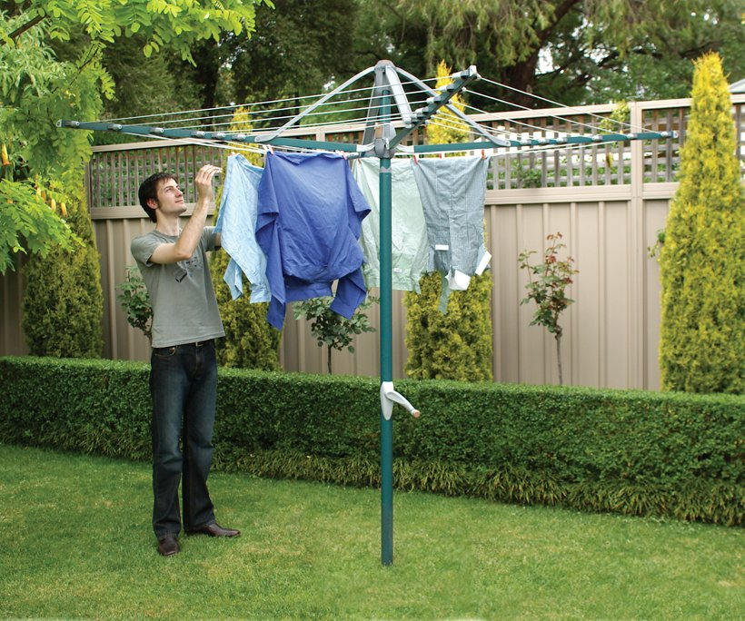 garden accessories to dry clothes