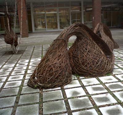 garden weaving art