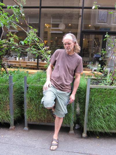 designer of grass pots